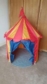 Kid's Ikea play tent