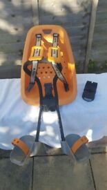 Thule Yep Mini Child Seat Bicycle Front Carrier Orange Lockable Removable