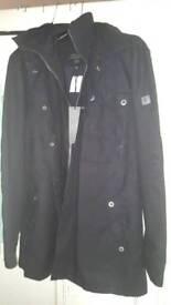 Firetrap xxl coat black