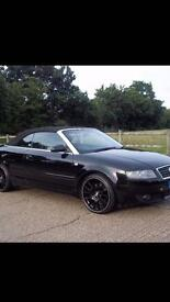 Black Audi A4 V6 2.4 for sale 2003 with BBS alloy wheels