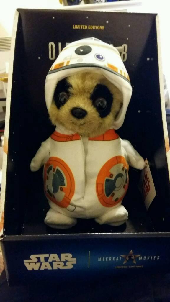Star Wars Meerkat Baby Oleg As Bb 8 In Speedwell