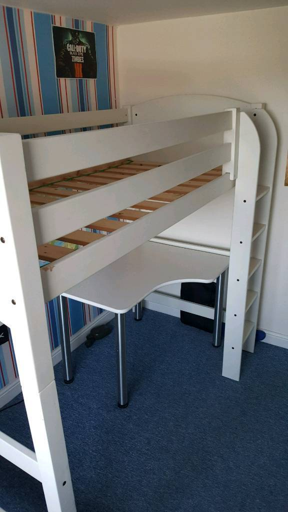 High Sleeper Bed Cabin Futon And Desk By Scallywags