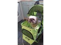 Dog buggy/pram/pushchair/stroller for small dogs - like new