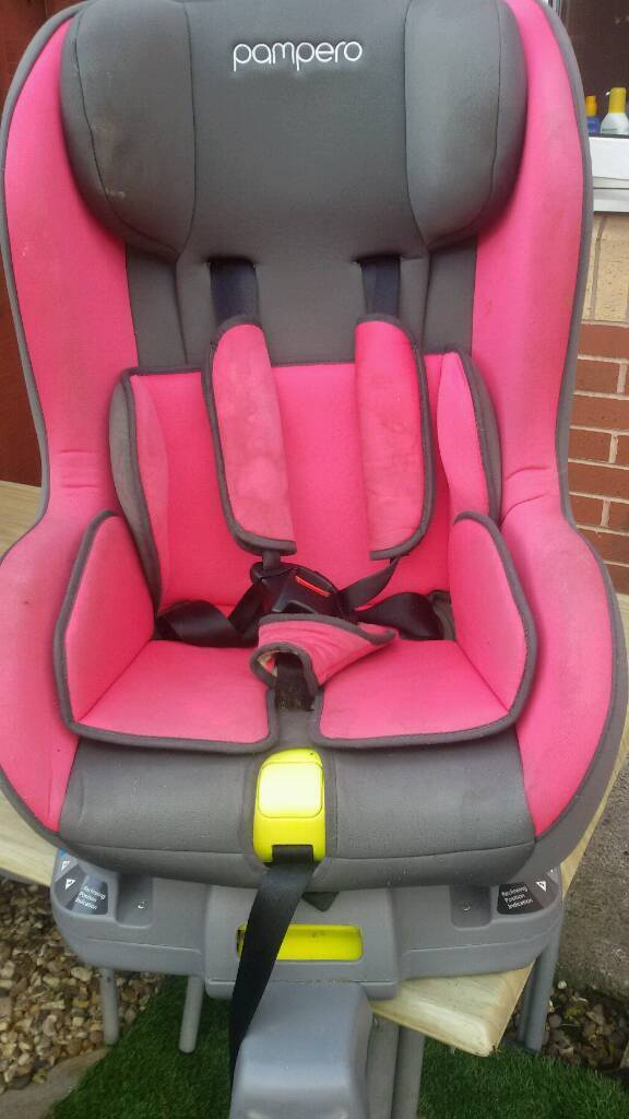Pampero Isofix 3 Position Reclining Baby Car Seat Group 1