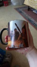 Starwars movie mug.