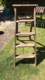 Ladder step wooden