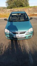 Vauxhall corsa 2005 1.2 £850