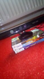 Kinect with 3 games