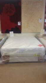 New Double or Kingsize Drawer Divan Beds & Mattresses. Famous Brands. £129 to £169