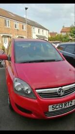 Vauxhall Zafira 1.6 [115] EXCLUSIV 5DR 2013