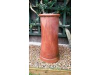 Two Chimney Pots for sale. 30 in high, excellent Condition.