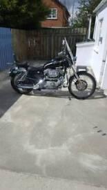 04 Harley Davidson X L Custom 100th Anniversary Edition