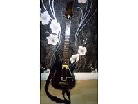 Guitar hero live+guitar ps4