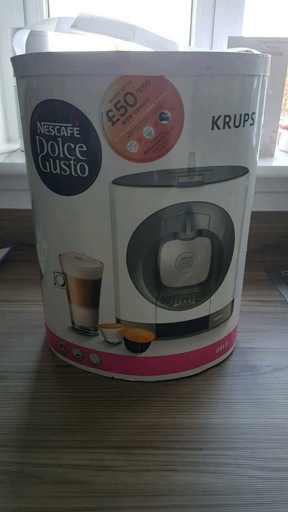 Nescafe Dolce Gusto Oblo Coffee Machine Maker Brand New In Barrhead Glasgow Gumtree