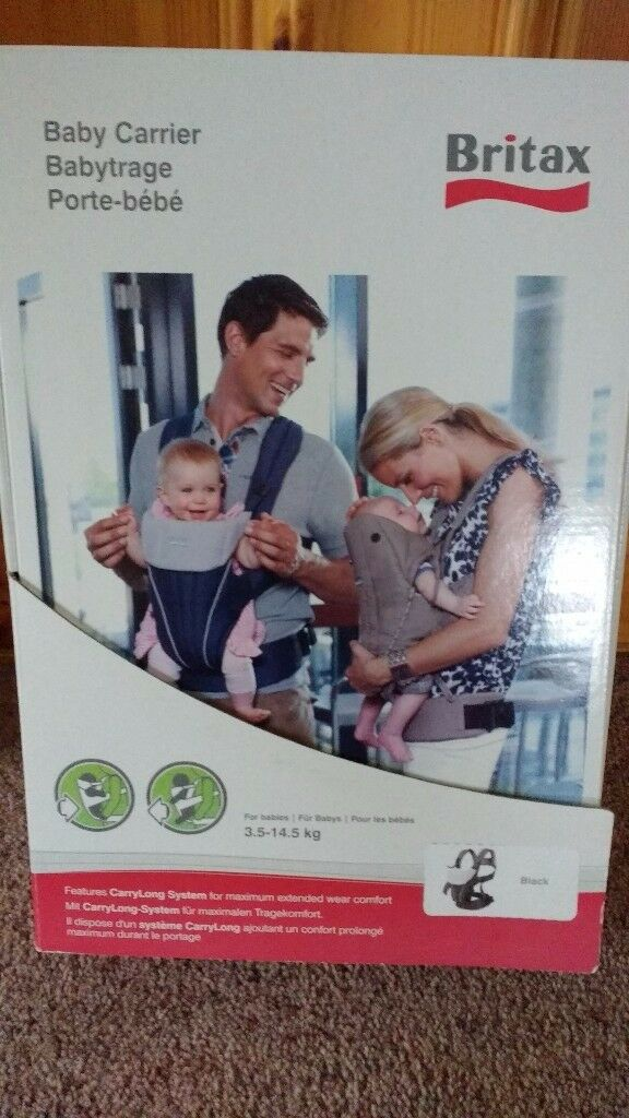 Britax baby carrier excellent condition £50 new