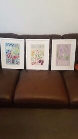 Framed Kitchen Prints