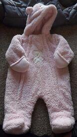very good quality winter baby onesie.