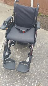 Sirocco electric or manual wheelchair (can fold down) reasonable offers taken.