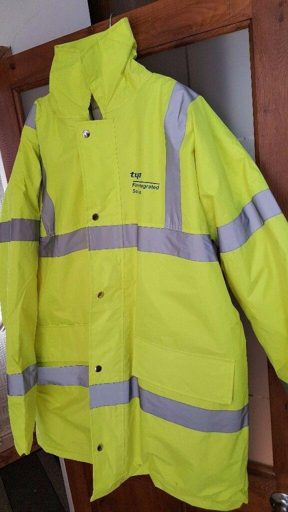 Hi Vis Visibility jacket waterproof