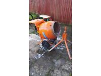 Cement mixer BELLE 150, 240v and stand