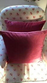 Pair of Laura Ashley Nigella Cushions