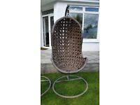 Garden swing chair from John Lewis £100