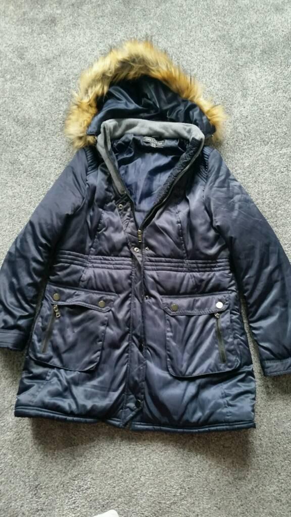 Women winter jacketin CardiffGumtree - Nice warm jacket size 14