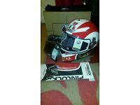 AGV K3-SV Marco Simoncelli Helmet Small