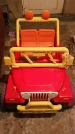 Kids car jeep