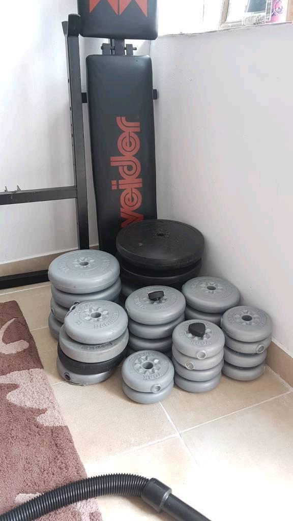140kg home gym