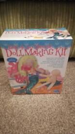 Brand new Easy to do mermaid Doll making kit