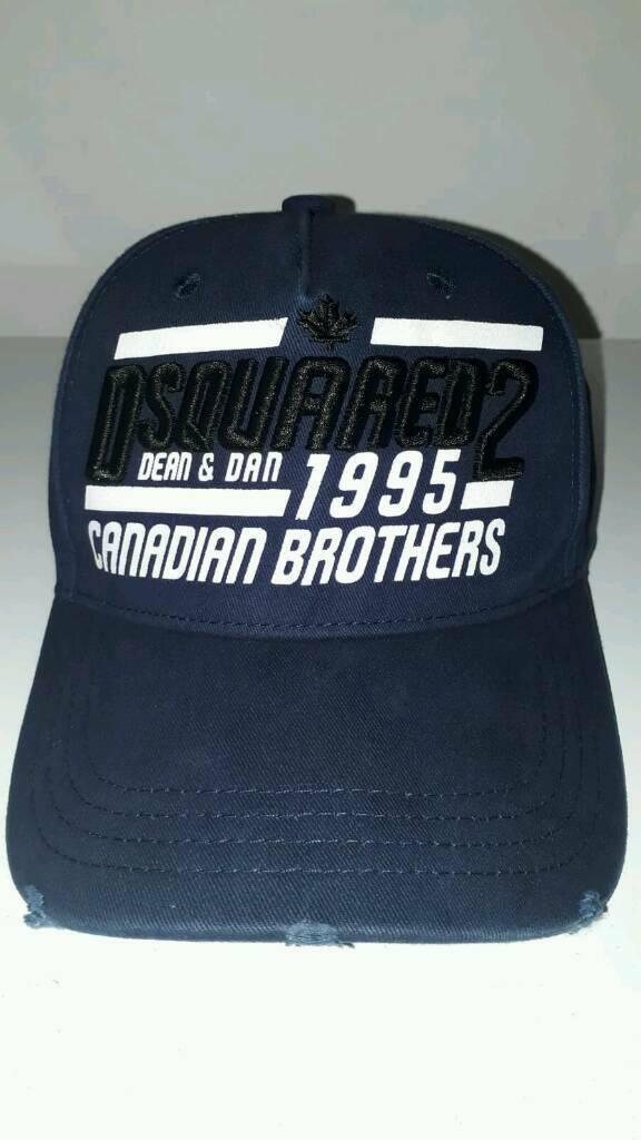 a2fdd1baf2b69 Dsquared2 Canadian Brothers Blue cap