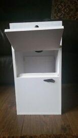 Hygienic and lightweight PVC box