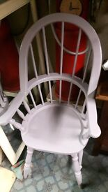 Pine Farmhouse Windsor Chair