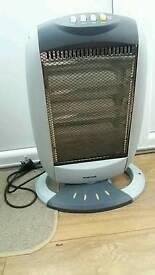A halogen heater