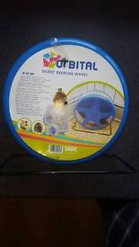 Savic silent exercise wheel Rat/ Hamster