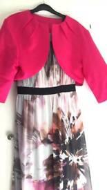 Debenhams dress and shrug