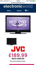 JVC lt32dg20 Full HD with freeview and remote