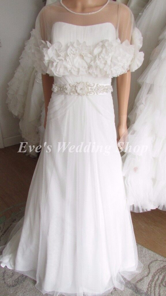 VINTAGE BY ALFRED ANGELO UK16 wedding dress