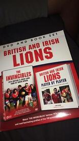 Rugby Lions DVD and Book