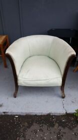 Antique Bucket Chair For Project