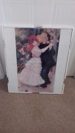Framed Print of Renoir's Dancing Couple