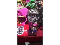OFFER JOBLOT ASSORTED LADIES AND GENTS WINTER HATS BRAND NEW-DIFFERENT SIZES AVAILABLE FOR SALE