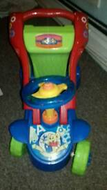 Childrens 2 in 1 ride on or walker