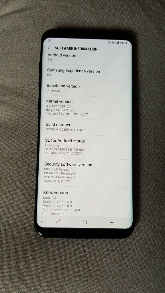 Samsung Galaxy s8 plus 64gb unlocked black | in Southport, Merseyside |  Gumtree