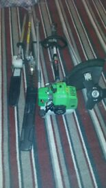 brand new petrol trimmers multi tools 4 in 1 florabest ready to use