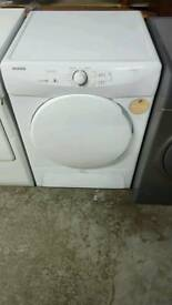HOOVER 8KG CONDENSOR TUMBLE DRYER WITH 3 MONTHS GUARANTEE
