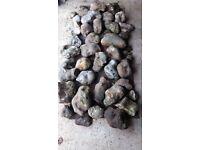 Mixture of Rockery Stones