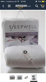 Electric single duvet