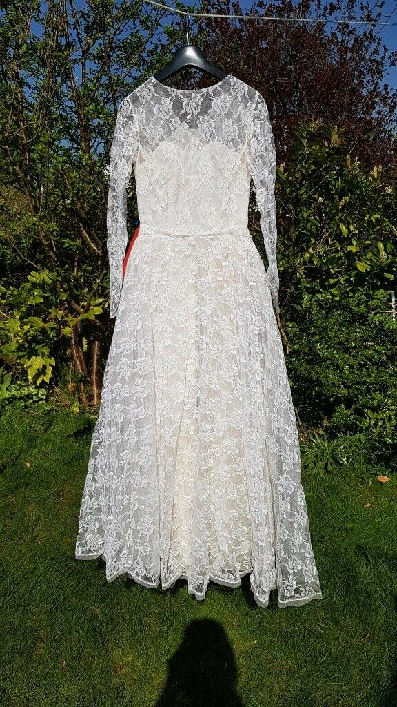 Vintage 1963 Wedding Dress 26 Waist Size 8 In Horsforth West Yorkshire Gumtree